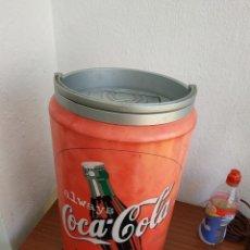Coleccionismo de Coca-Cola y Pepsi: LATA COCA COLA RADIO,COMPAT DISC Y CASSETTE. Lote 36272426