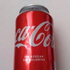 Coleccionismo de Coca-Cola y Pepsi: LATA COCACOLA COCA COLA LIGHT ERROR PRODUCCION CERRADO PRACTICAMENTE VACIO.LEER DESCRIPCION.. Lote 220483175