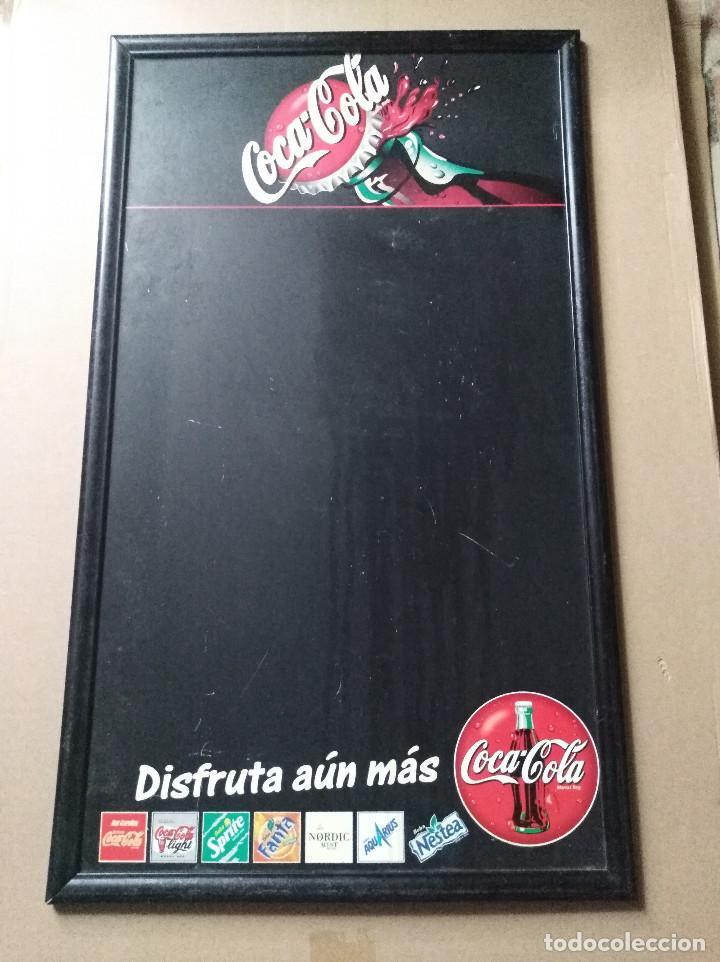 PIZARRA COCA COLA COCACOLA LEER VER ENVIO (Coleccionismo - Botellas y Bebidas - Coca-Cola y Pepsi)