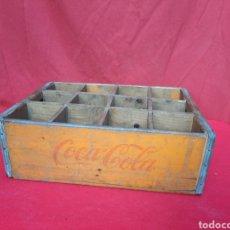 Coleccionismo de Coca-Cola y Pepsi: ANTIGUA CAJA DE COCA COLA DE MADERA. Lote 220829385
