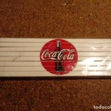 Coleccionismo de Coca-Cola y Pepsi: LAPICEROS DE COLORES DE COCA COLA. Lote 221279350