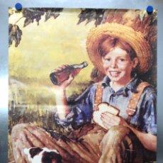 Coleccionismo de Coca-Cola y Pepsi: CARTEL COCA-COLA - AÑOS 1980-90. Lote 222033903