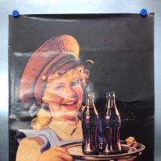 Coleccionismo de Coca-Cola y Pepsi: CARTEL COCA-COLA - AÑOS 1980-90. Lote 222034305