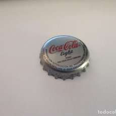 Coleccionismo de Coca-Cola y Pepsi: CHAPA COCA COLA LIGHT 1 COBEGA A (TCI). Lote 222536993