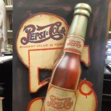Coleccionismo de Coca-Cola y Pepsi: RARISIMA PROPAGANDA DE PEPSI COLA. EN RELIEVE. Lote 223128421