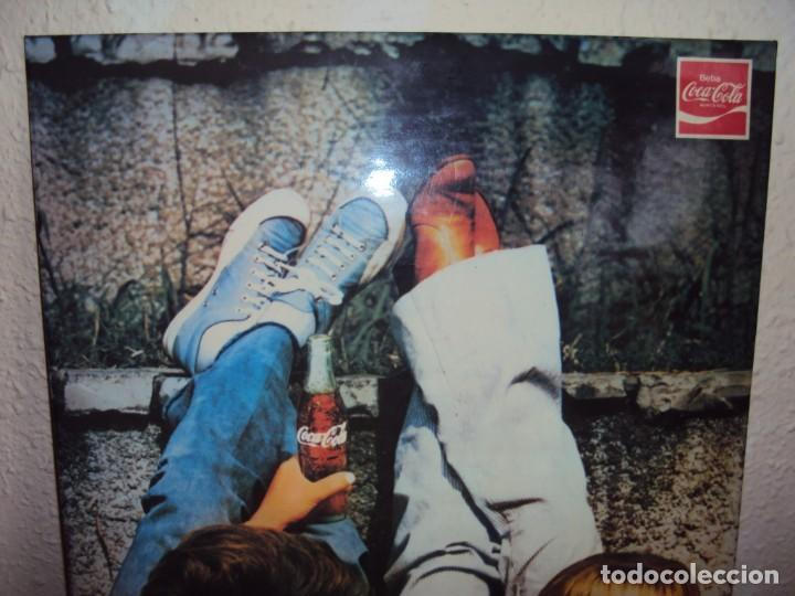 Coleccionismo de Coca-Cola y Pepsi: (CAR-201100)CARTEL PUBLICITARIO COCA-COLA DA MAS CHISPA - AÑOS 70-80 - Foto 2 - 223692298