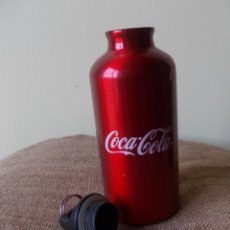 Coleccionismo de Coca-Cola y Pepsi: BOTELLA METALICA PORTATIL CON TAPA PARA DEPORTE COCA - COLA. Lote 223905151