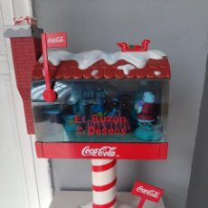 Collectionnisme de Coca-Cola et Pepsi: BUZON DE LOS DESEOS COCACOLA UNICO EN TC DIFICIL. Lote 224828033