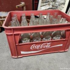 Coleccionismo de Coca-Cola y Pepsi: 24 BOTELLINES DE COCACOLA EN SU CAJA.. Lote 225589245