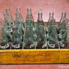 Coleccionismo de Coca-Cola y Pepsi: ANTIGUA CAJA COCA-COLA DE TERCIO. AÑOS 50. VER TODAS LAS FOTOS. Lote 226782250