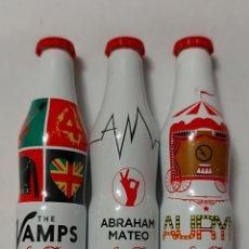 Coleccionismo de Coca-Cola y Pepsi: 3 BOTELLITAS COCA COLA. Lote 228036230