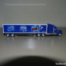 Coleccionismo de Coca-Cola y Pepsi: CAMIÓN CON PUBLICIDAD DE PEPSI A ESCALA 1/87.. Lote 228449571