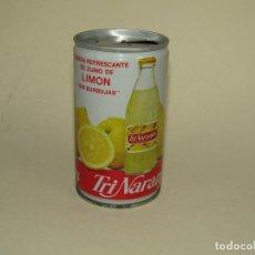 Coleccionismo de Coca-Cola y Pepsi: ANTIGUA LATA BOTE DE TRINARANJUS DE LIMÓN SIN BURBUJAS - AÑO 1980S.. Lote 228617250