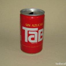 Coleccionismo de Coca-Cola y Pepsi: ANTIGUA LATA BOTE DE TAB SIN AZUCAR DE COCA COLA - AÑO 1980S.. Lote 228619975
