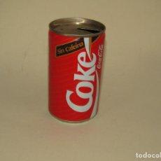 Coleccionismo de Coca-Cola y Pepsi: ANTIGUA LATA BOTE DE COCA COLA SIN CAFEINA - AÑO 1988. Lote 228624450
