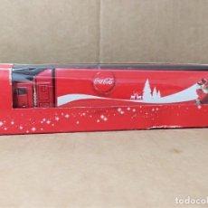 Coleccionismo de Coca-Cola y Pepsi: CAMION COCA COLA NAVIDAD PAPA NOEL PUBLICIDAD COKE REFRESCO OBSEQUIO COMPRA BOTELLA. Lote 228860740