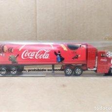 Coleccionismo de Coca-Cola y Pepsi: CAMION COCA COLA NAVIDAD PAPA NOEL PUBLICIDAD COKE REFRESCO OBSEQUIO COMPRA BOTELLA. Lote 228861180