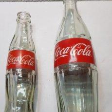 Coleccionismo de Coca-Cola y Pepsi: BOTELLAS COCA-COLA 600ML Y 190ML EN CRISTAL. Lote 229002282