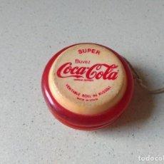 Coleccionismo de Coca-Cola y Pepsi: ANTIGUO YO YO RUSELL COCA COLA AÑOS 70. Lote 229003605