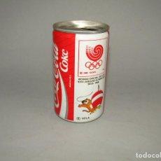 Coleccionismo de Coca-Cola y Pepsi: ANTIGUA LATA BOTE DE COCA COLA COKE JUEGOS OLÍMPICOS SEUL - Nº 6 VELA - AÑO 1988. Lote 229595905