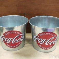 Coleccionismo de Coca-Cola y Pepsi: CUBOS ZINC COCACOLA. Lote 229708300