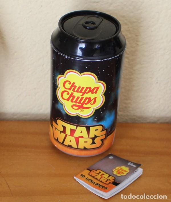Coleccionismo de Coca-Cola y Pepsi: LATA CHUPA CHUPS STAR WARS STORMTROOPER 33 CL. LUCASFILM DISNEY 2017 - Foto 2 - 230478975