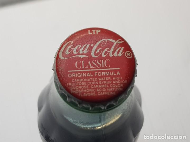 Coleccionismo de Coca-Cola y Pepsi: Botella coca-cola USA 94 DETROIT llena sin abrir muy difícil - Foto 4 - 231029305