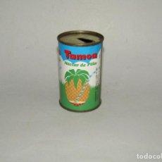 Coleccionismo de Coca-Cola y Pepsi: ANTIGUA LATA BOTE NÉCTAR DE PIÑA TAMOA DE PUEBLA DE MULA - MURCIA DE 165 ML. - AÑO 1986. Lote 231749445