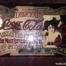 Coleccionismo de Coca-Cola y Pepsi: ESPEJO LITOGRAFIADO COCA COLA. Lote 231904705