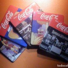 Coleccionismo de Coca-Cola y Pepsi: LOTE 5 POSAVASOS - COCA COLA. Lote 232972485