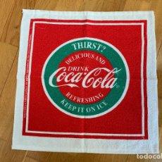 Coleccionismo de Coca-Cola y Pepsi: COCA COLA PAÑO COCINA. NUEVO. Lote 233276560