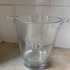 Coleccionismo de Coca-Cola y Pepsi: COCA COLA-CUBITERA DE CRISTAL. NUEVA. Lote 233522185