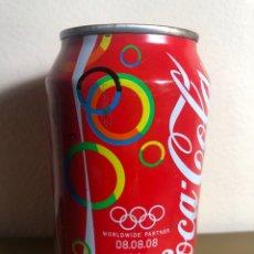 Coleccionismo de Coca-Cola y Pepsi: LATA DE COCA-COLA OLIMPIADAS BEIJING 2008( FUTBOL COCACOLA). Lote 235966800