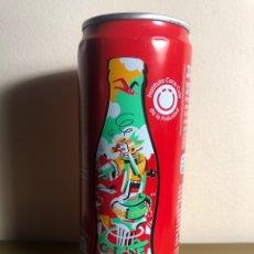 Coleccionismo de Coca-Cola y Pepsi: LATA DE COCA-COLA COLON BARCELONA COCACOLA. Lote 235974155