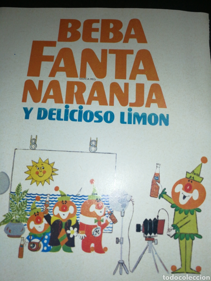 Coleccionismo de Coca-Cola y Pepsi: FANTA 1969,ANTIGUA PUBLICIDAD 19X13CM - Foto 2 - 236464100
