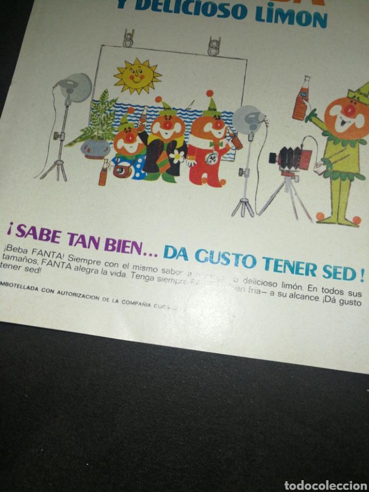 Coleccionismo de Coca-Cola y Pepsi: FANTA 1969,ANTIGUA PUBLICIDAD 19X13CM - Foto 3 - 236464100