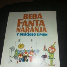 Coleccionismo de Coca-Cola y Pepsi: FANTA 1969,ANTIGUA PUBLICIDAD 19X13CM. Lote 236464100