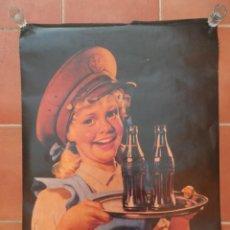 Coleccionismo de Coca-Cola y Pepsi: POSTER COCA-COLA. Lote 237360285