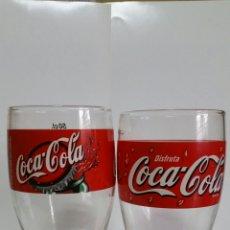 Coleccionismo de Coca-Cola y Pepsi: DOS VASOS / DE COCA COLA / DE 2001 / NUEVO. Lote 239565665