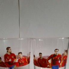 Coleccionismo de Coca-Cola y Pepsi: DOS VASOS DE COCA-COLA.FIELES A LA ROJA.NUEVOS.. Lote 239578810