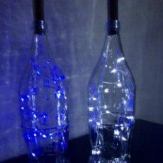 Coleccionismo de Coca-Cola y Pepsi: BOTELLAS DECORACIÓN LUZ LED. Lote 240124795
