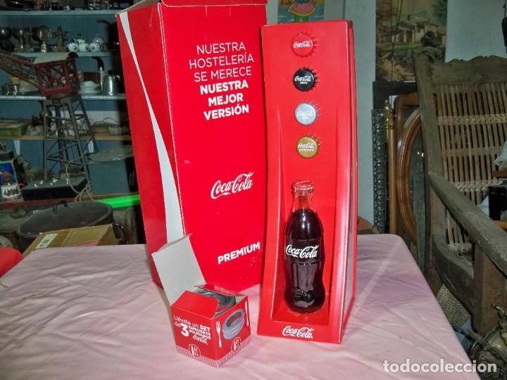 Coleccionismo de Coca-Cola y Pepsi: 2 Artículos de publicidad de COCA COLA en caja, - Foto 2 - 240728165