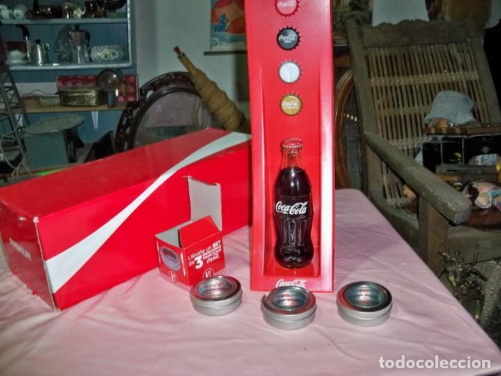 Coleccionismo de Coca-Cola y Pepsi: 2 Artículos de publicidad de COCA COLA en caja, - Foto 5 - 240728165