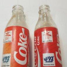 Coleccionismo de Coca-Cola y Pepsi: BOTELLA ANTIGUA COCACOLA LOTE 2 EXPO 92. Lote 241550665