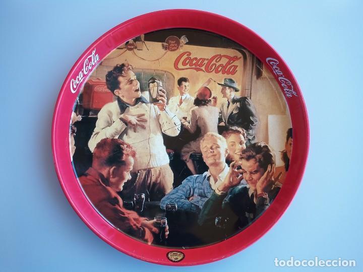 BANDEJA COCA COLA , BURGER KING , DIAMETRO 27CM (Coleccionismo - Botellas y Bebidas - Coca-Cola y Pepsi)