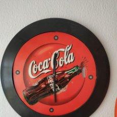 Coleccionismo de Coca-Cola y Pepsi: RELOJ COCA COLA GIGANTE DE PARED. 42 CM DE DIAMETRO SIN CRISTAL. Lote 241876115