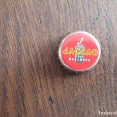 Collectionnisme de Coca-Cola et Pepsi: CHAPA TAPÓN CORONA DE LACCAO, BATIDO DE CHOCOLATE TÍPICO DE MALLORCA.. Lote 243249830