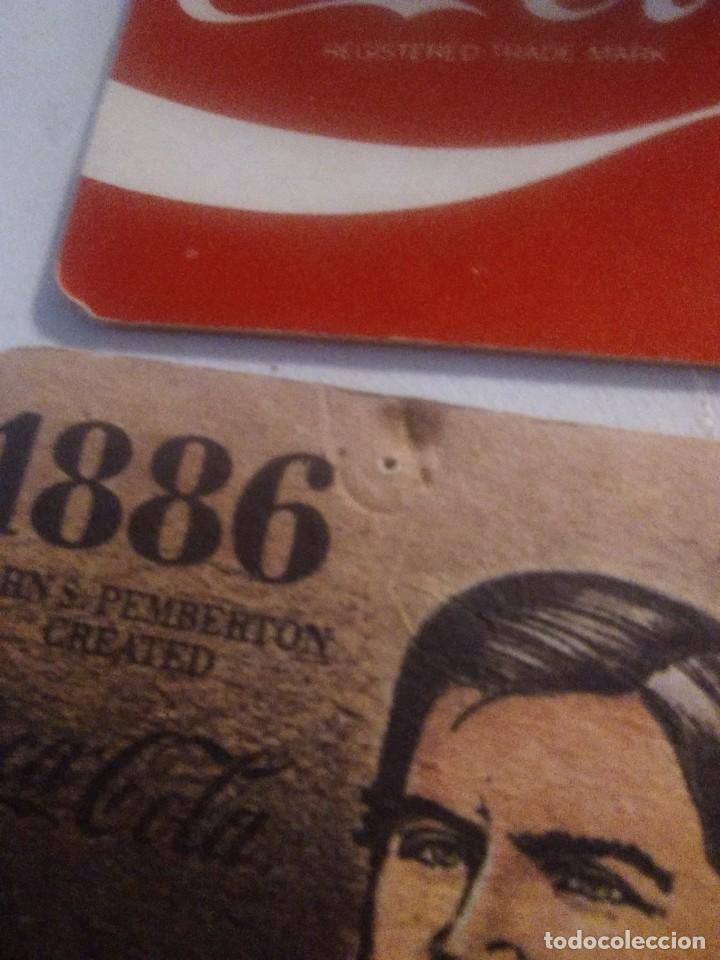 Coleccionismo de Coca-Cola y Pepsi: 4 posavasos coleccionables Coca-Cola coca cola - Foto 2 - 243589390