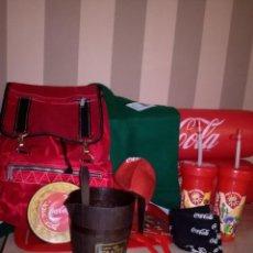 Coleccionismo de Coca-Cola y Pepsi: COCACOLA LOTE PRODUCTOS PROMOCIONALES. Lote 244427105