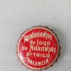 Colecionismo de Coca-Cola e Pepsi: ANTO CHAPA CORONA DE TRINARANJUS CORCHO. Lote 245089725